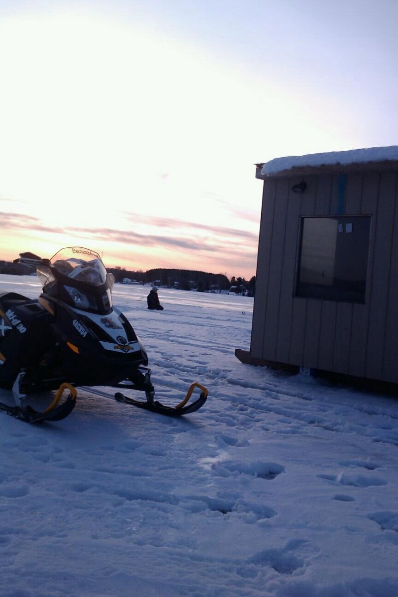 Ice fishing lake nosbonsing members gallery ontario for Ice fishing report