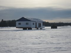 cottage.....on the water ..